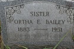 Ortha E. Bailey