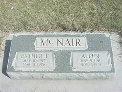 Esther F. <i>Zufelt</i> McNair