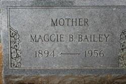 Maggie Caroline <i>Burnett</i> Bailey