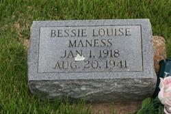 Bessie Louise Maness