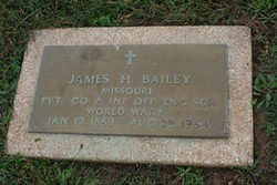 Pvt James H. Bailey