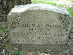 Millie Marie <i>Speaker</i> Mayeux