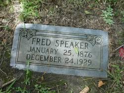 Frederick Fred Speaker, I