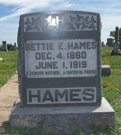 Elizabeth E. (Edwards) Bettie <i>Smith</i> Hames