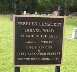 Peebles Cemetery OIR