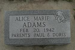 Alice Marie Adams