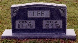 Beulah Mae <i>Bell</i> Lee