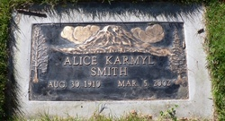 Alice Karmyl <i>Stone</i> Smith