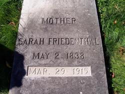 Sarah <i>Loewenstein</i> Friedenthal
