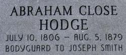 Abraham Close Hodge