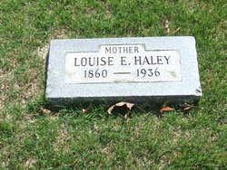 Louise E. <i>Pennington</i> Haley