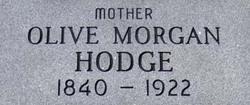 Olive <i>Morgan</i> Hodge