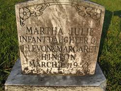 Martha Julie Hinton