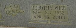 Dorothy <i>Wise</i> Patterson