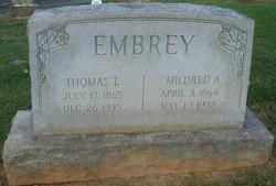 Thomas L. Embrey