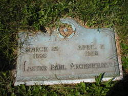 Lester Paul Argenbright