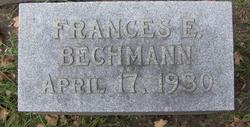 Frances E Bechman