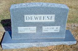 Lottie Belle <i>Hawkins</i> DeWeese