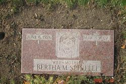 Bertha M. <i>Fleury</i> Spinelli