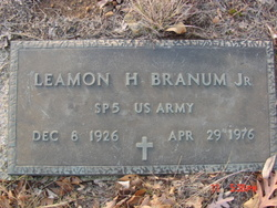 Leamon H Branum, Jr