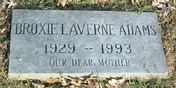 Broxie Laverne Adams