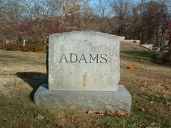 John Dickens Adams, Sr