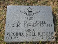Col Derosey Carroll Bud Cabell, III