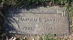 PFC Harold Eugene Buddy Sarvis, Jr