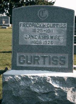 Jane A <i>Brown</i> Curtiss