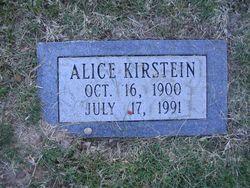 Alice <i>Groesbeck</i> Kirstein