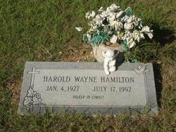 Harold Wayne Hamilton