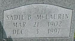 Sadie B. McLaurin