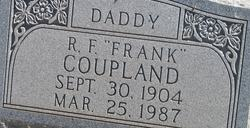 R F <i>Frank</i> Coupland