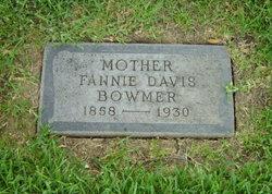 Fannie <i>Davis</i> Bowmer