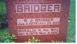 Nancy Rosalia <i>Brown</i> Bridger