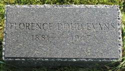 Mrs Florence <i>Doud</i> Evans