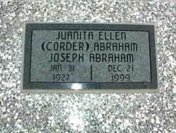 Juanita Ellen <i>Corder</i> Abraham