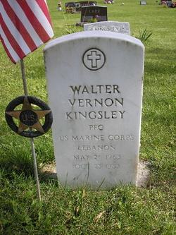 PFC Walter Vernon Kingsley
