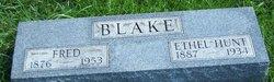 Ethel Hunt Blake
