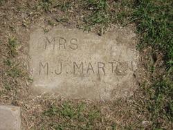 Mary Jane (Mrs.) <i>Toney</i> Martin