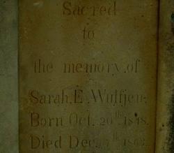 Sarah E. Wulfjen