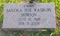 Sandra Sue <i>Rasbury</i> Hobson