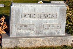 Marie <i>Hansine</i> Anderson