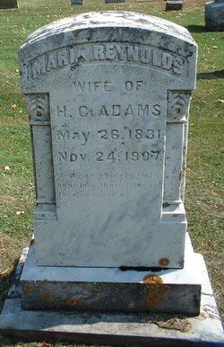 Maria <i>Reynolds</i> Adams