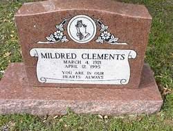 Mildred <i>Miller</i> Clements