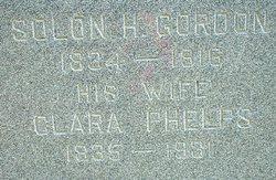 Clara <i>Phelps</i> Gordon
