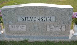 Joe Forrest Stevenson