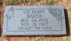 Lee Harry Baker