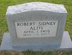 Robert Sidney Aldy