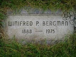 Winifred Pearle <i>Zahn</i> Bergman